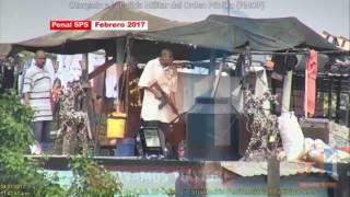 Presuntos pandilleros montan vigilancia fuertemente armados dentro de cárcel en SPS