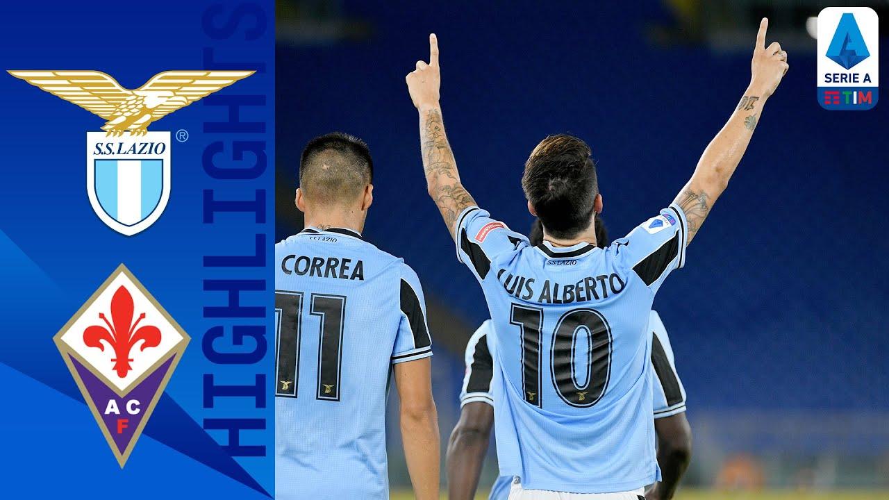Lazio 2-1 Fiorentina | Lazio Keep Title Hopes Alive with a Late Victory! | Serie A TIM