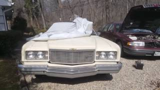 Cold start the 1975 Impala