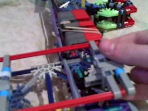 original k nex roller coaster instructions