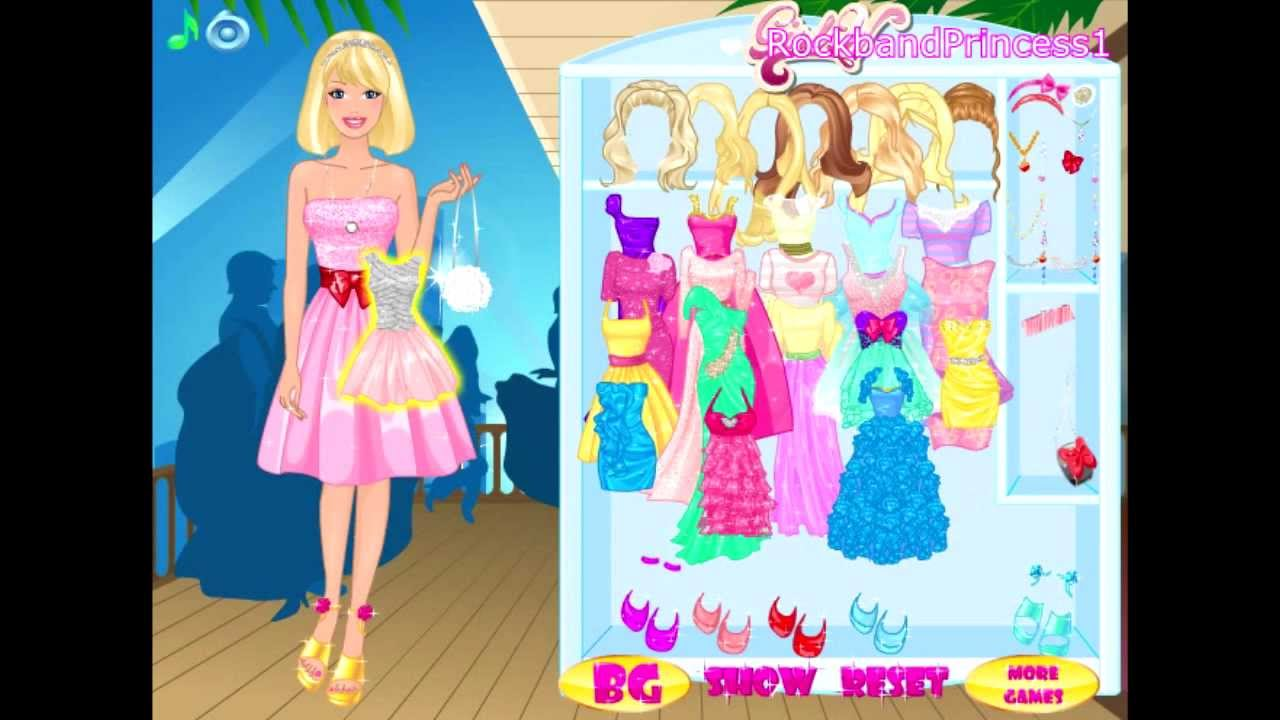 barbie doll games free online play