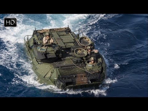 U S Marines Assault Exercise Using Bold Alligator Amphibious