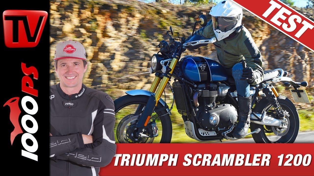 Triumph Scrambler 1200 XE Und XC 2019