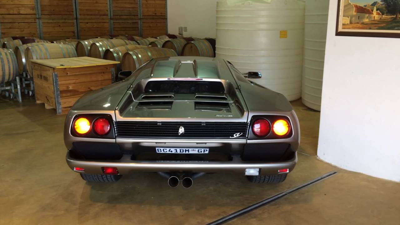 Old School Lamborghini Power Youtube