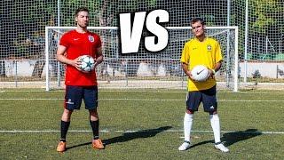 BYVIRUZZ VS DELANTERO09 - Retos de Fútbol Épicos