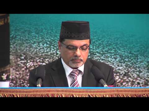 Jalsa Salana Belgium 2014 First Session Speech Amir Jamaat Belgium