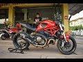 Ducati monster 821??? zard My P'Toto ?????? GOT Racing.
