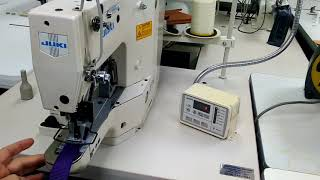 JUKI LK-1900HS Electronic Tacker - Bar Tacking Machine