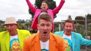 Rocking Children's Songs - The Vege Song - Teaching Kids To Eat Vegetables - The Mik Maks