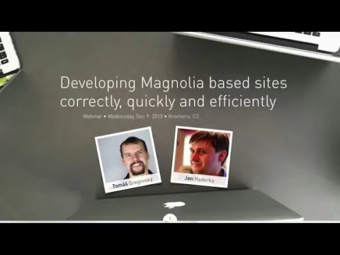How to develop Magnolia based sites correctly, quickly and efficiently