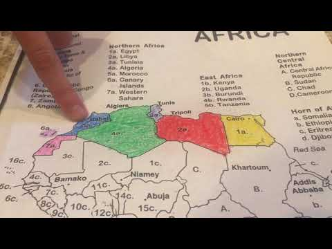 Northern Africa Geography Song