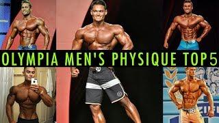 MR OLYMPIA 2017: MEN'S PHYSIQUE & Classic Physique PROGNOSE #1