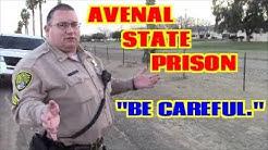 1st Amendment Audit, Avenal State Prison W/ Pink Camera Magic