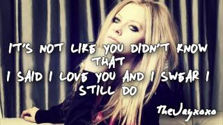 Avril Lavigne - How You Remind Me *New* 2013 (Lyrics)