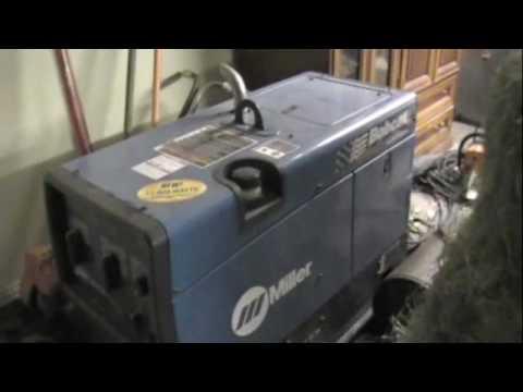 Miller bobcat 250 Wont start - YouTube