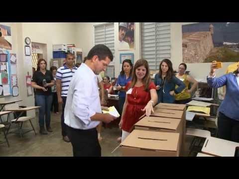 Resident Commissioner Pedro Pierluisi intv with CBS Puerto Rico