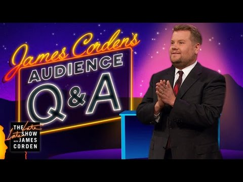 Audience Q&A w/ James Corden