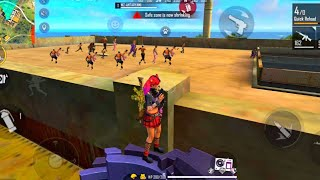 🔥King Of Factory Roof Solo Vs Duo/🔥Garena Free Fire/🔥 Amazing Gameplay In Factory Roof/🔥FF ANTARYAMI