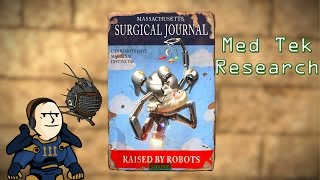 Fallout 4 - Med Tek Research - Massacheusetts Surgical journal