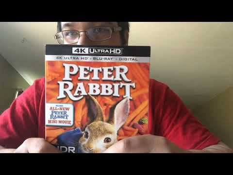 Peter Rabbit 4K Ultra HD Blu-Ray Unboxing