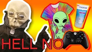 ALIEN TALKS SH#T ABOUT CRAP - AM64