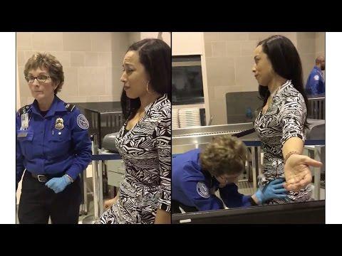 Angela Rye Violated By TSA