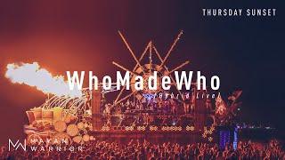 WhoMadeWho (Live) - Mayan Warrior - Burning Man 2019