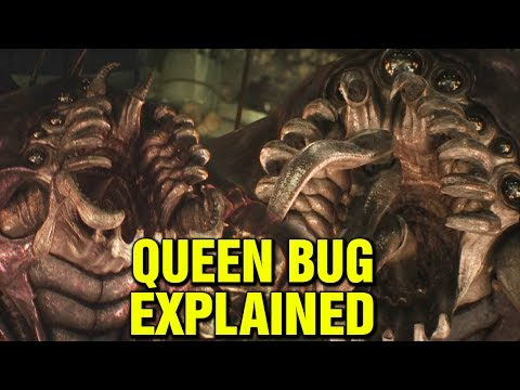 QUEEN BUG EXPLAINED - STARSHIP TROOPERS -  WHAT IS THE QUEEN ARACHNID?
