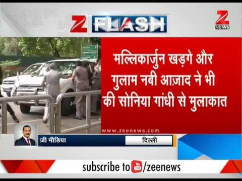 Presidential polls: Rajnath Singh, Venkaiah Naidu meet Sonia Gandhi