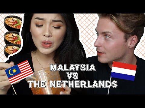 🇲🇾 MALAYSIA VS. THE NETHERLANDS 🇳🇱 (SPICY EDITION) FT. RUBEN VAN DE SANDE | MYRA BIUSING