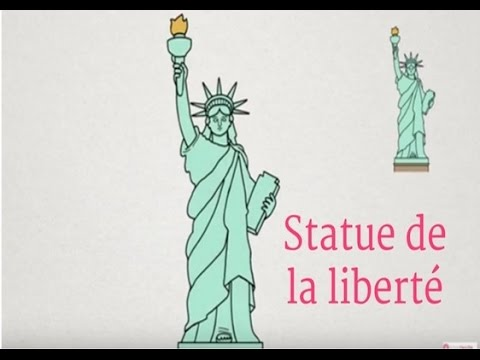 Apprendre à Dessiner La Statue De La Liberte