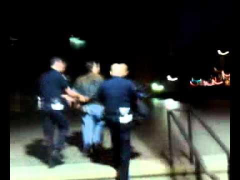 Mke Garcia Arrested at Occupy San Diego Jan 6