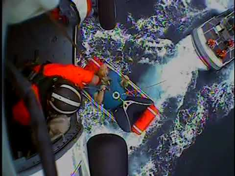 Raw: Coast Guard rescues nine from Canadian tall ship