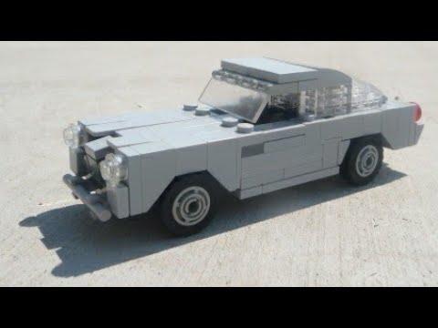 LEGO 007 Aston Martin DB5 MOC