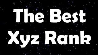 Top Three - Xyz Ranks
