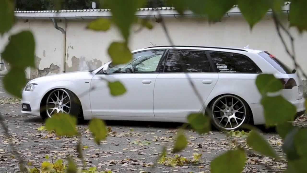 Audi A6 On Vossen Wheels Youtube