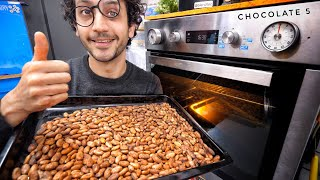 I Tried Roasting Cocoa Beans But Failed At Winnowing...