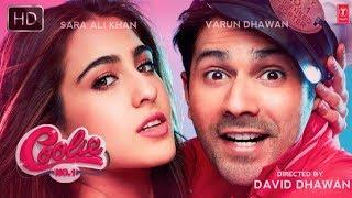 Cooli No 1 Movie || First Look Poster || Sara Ali Khan || Varun Dhawan