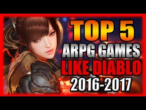 Top 5 Most Anticipated Arpg Games Like Diablo 2016 2017