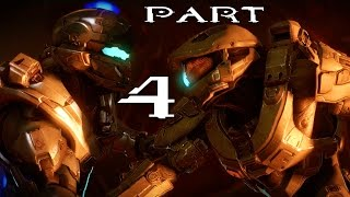 Halo 5 Guardians Walkthrough Part 4 - Mission 4 & 5  (Halo 5 Campaign Gameplay) SPOILERS