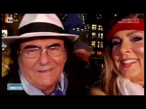 Romina posta selfie con Al Bano: Loredana lo lascia! - La vita in diretta 18/01/2018