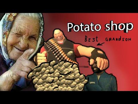 Gmod : bootleg russian potato shop