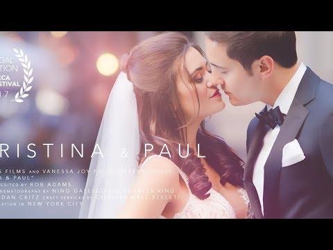 Christina and Paul  Cipriani Wedding   NYC Wedding Videographer