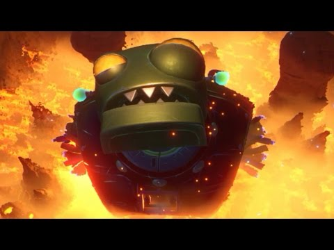 "Plants vs. Zombies Garden Warfare 2 - Mega Zombot 6000 Final Boss ""Zombopolis"""