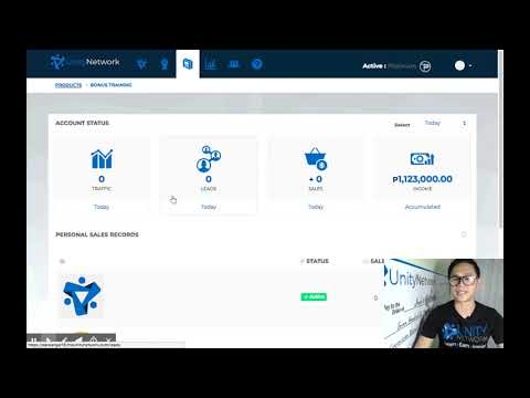 Unity Network - How To Login To UNITY NETWORK Dashboard (A
