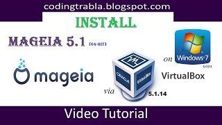 Install mageia 5.1 x64 on windows 7 ...
