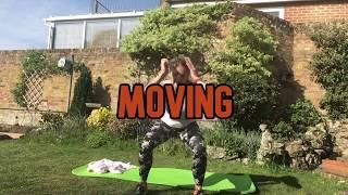 Lower body workout trailer