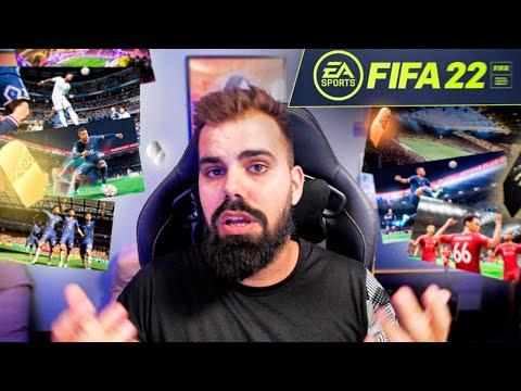 PRIMEIRAS IMPRESSOES DO FIFA 22! A MINHA OPINIÃO.