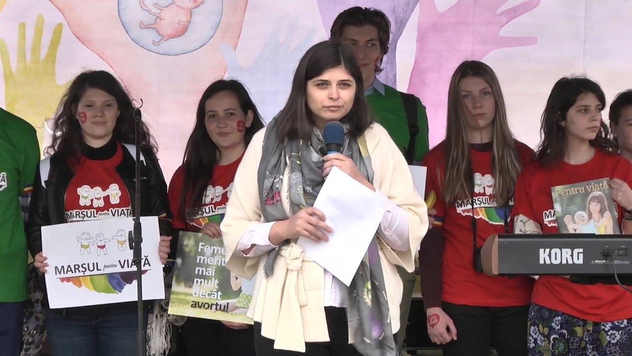 ALEXANDRA NADANE - MARŞUL PENTRU VIAȚĂ 2017 - BUCUREŞTI