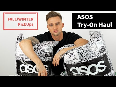 Huge Mens ASOS Try On Haul | Fall /Winter pickups 2018 (£600)